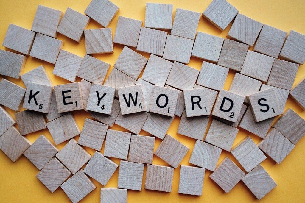 keywords letters, scrabble, word